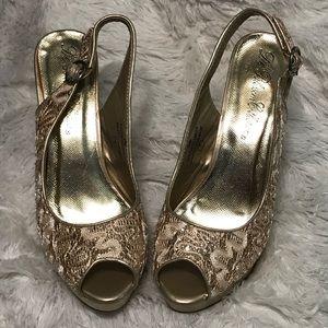 De Blossom Collection Tami Slingback Heels